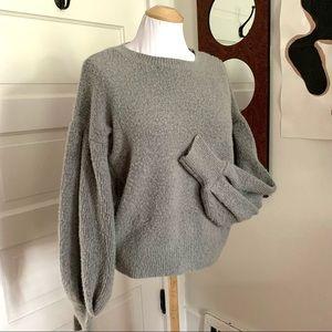 Stunning Puff Sleeve Sweater